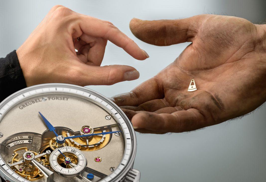 Výroba hodinek Greubel Forsey Hand Made 1 zabrala 6000 hodin práce