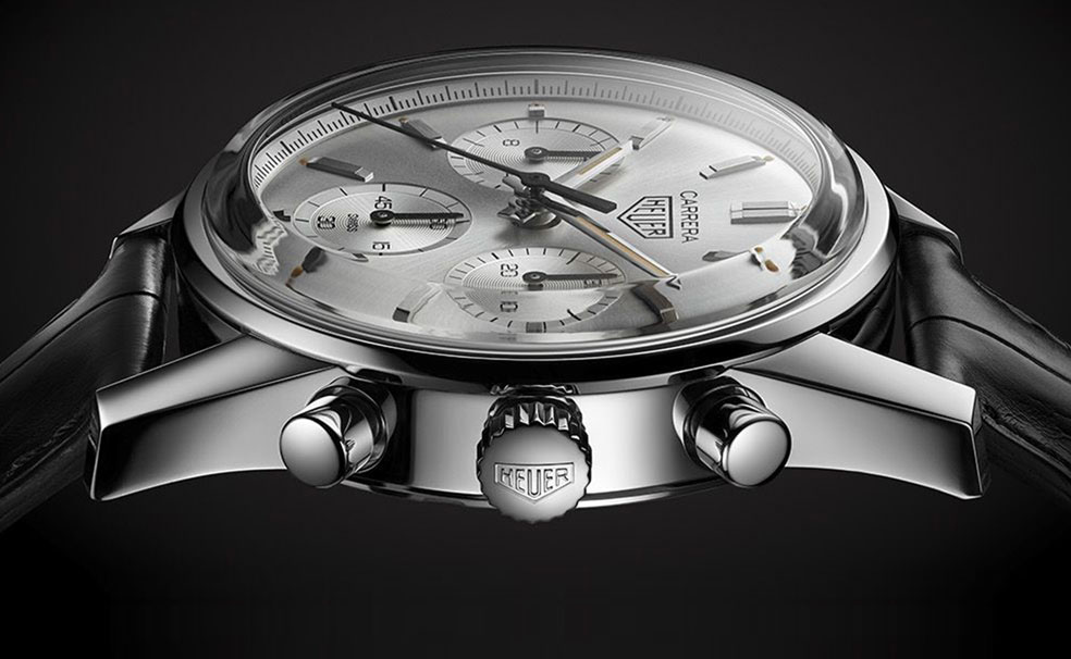 Heuer Carrera 160 Years Silver Limited Edition