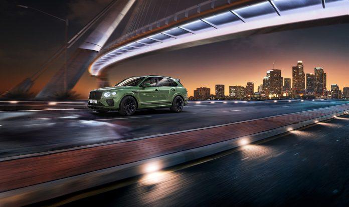 Luxusní SUV Bentley Bentayga po faceliftu 2020