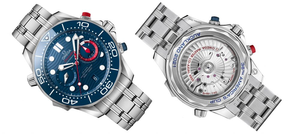 Omega Seamaster Diver 300M America´s Cup Chronograph