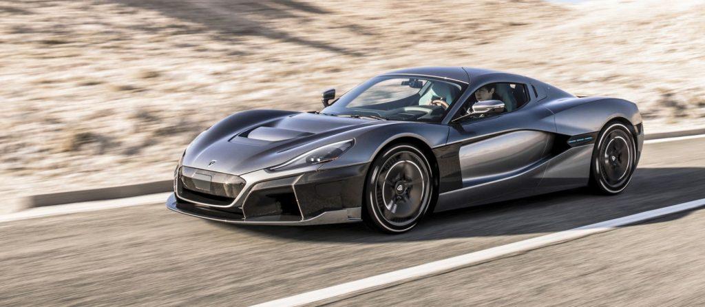 Supersportovní elektromobil Rimac C_Two vystřeli z nuly na stovku za 1,85 vteřiny