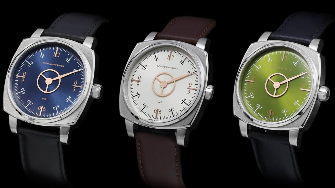 Schaumburg Watch Squarematic Loyalty, Pureness a Harmony