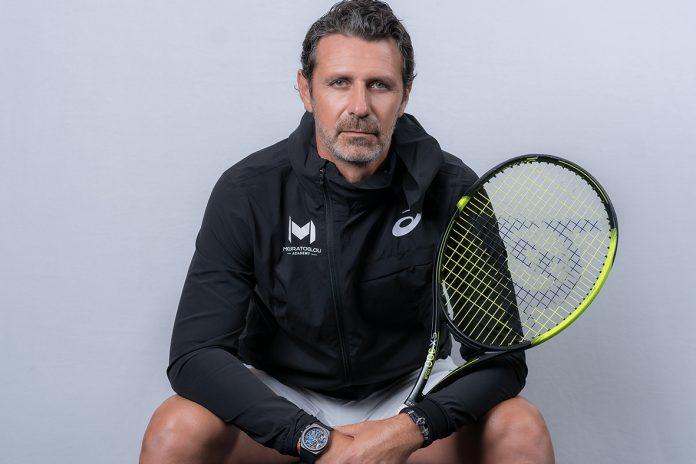 Patrick Mouratoglou, trenér tenistky Sereny Williamsové
