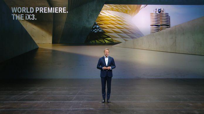 Digitální světová premiéra vozu BMW iX3