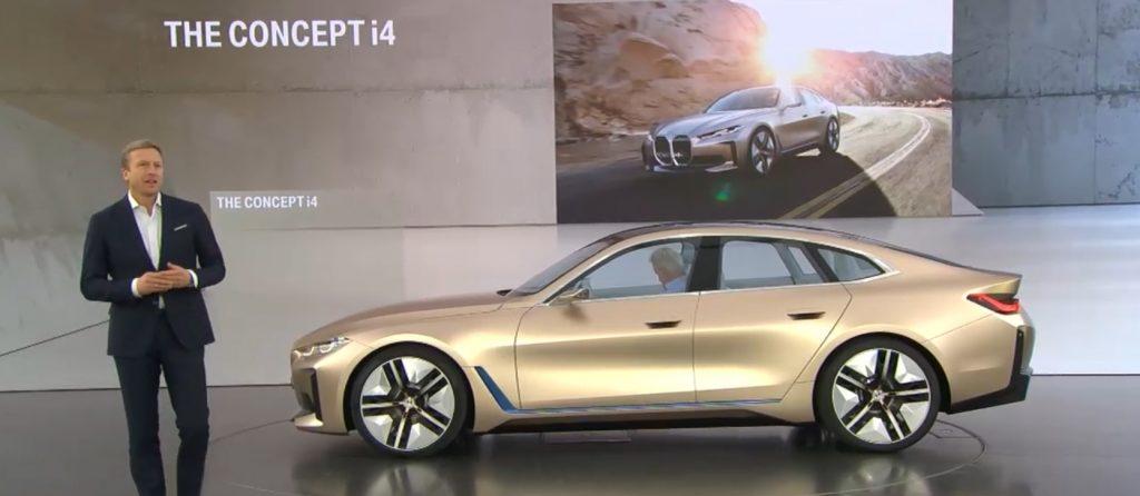 Novou studii BMW Concept i4 představil Oliver Zipse, předseda představenstva BMW AG