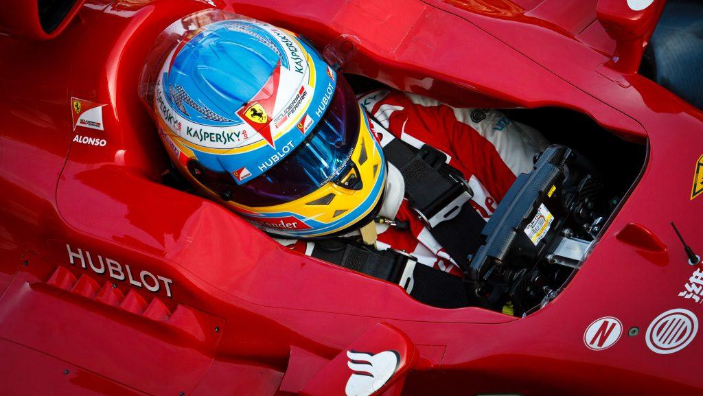 Logo Hublot na monopostu týmu Scuderia Ferrari vystřídá nové logo Richard Mille