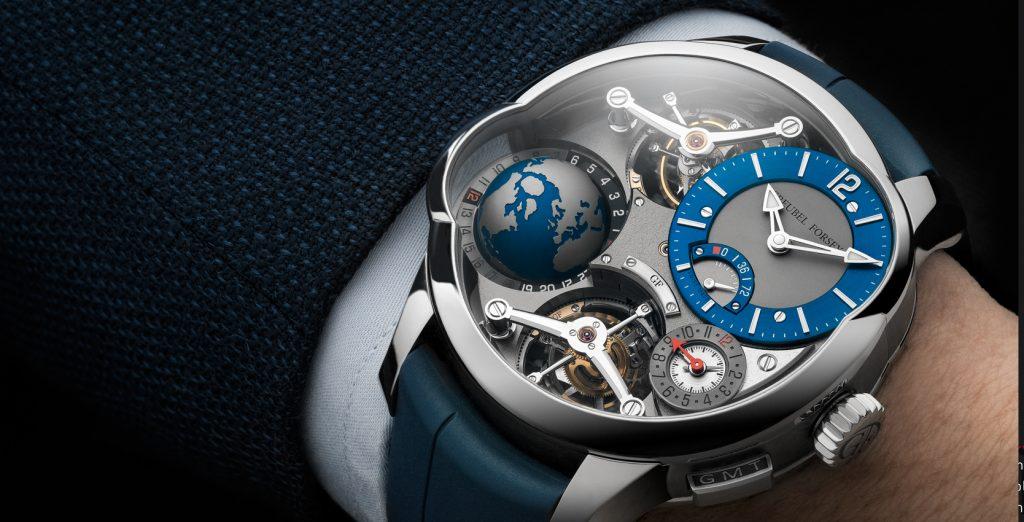 Greubel Forsey GMT Quadruple Tourbillon titanová edice limitovaná 11 kusy stojí 760 000 CHF