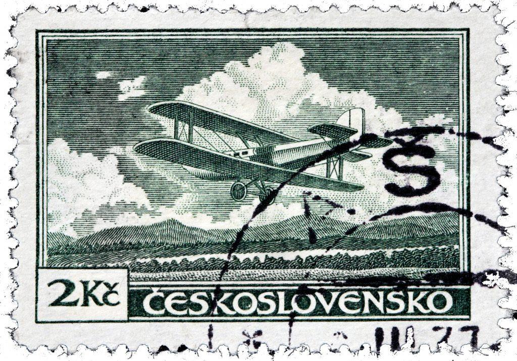 Letov Š-19 byl československý jednomotorový dopravní dvouplošník pro čtyři cestující z poloviny 20. let 20. století. (c) Shutterstock