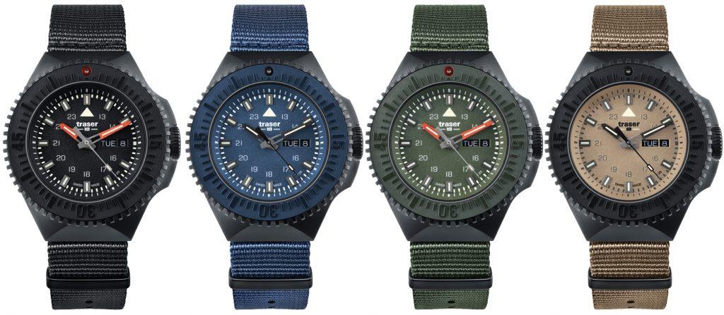 P69 Black Stealth jsou dostupné v černé, modré, zelené nebo pískové barvě