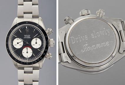 "Rolex ""Big Red"" Daytona Ref. 6263 (c) Phillips"