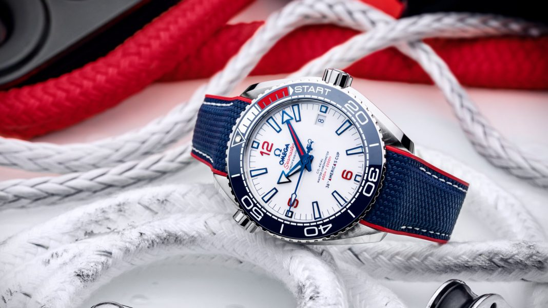 Omega Seamaster Planet Ocean 36th America´s Cup Limited Edition